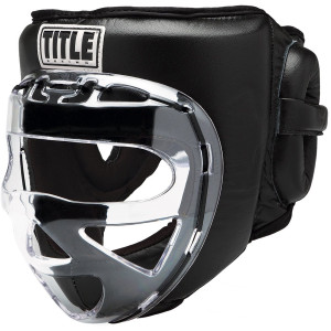 Title Boxing Faceshield No-Contact 2.0 Training Headgear - Black