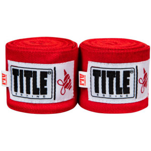 "Title Boxing Ali Sting 170"" Mexican Style Handwraps - Red"