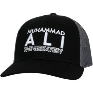 Title Boxing Muhammad Ali 3.0 Flat Bill Adjustable Cap - Black/Gray