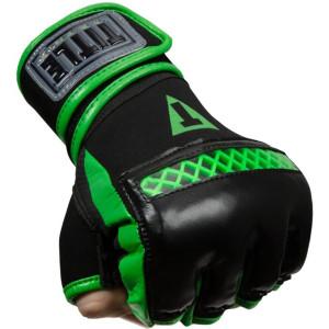 Title Boxing Matrix Quick Glove Wraps - Black/Neon Green
