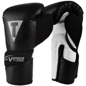 Viper by Title Boxing Bag Gloves - Black/White