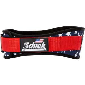 "Schiek Sports Model 2004 Nylon 4 3/4"" Weight Lifting Belt - Stars"
