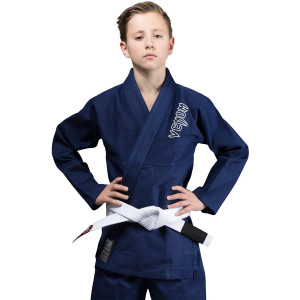 Venum Kids Contender Brazilian Jiu-Jitsu Gi - Navy Blue