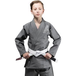 Venum Kids Contender Brazilian Jiu-Jitsu Gi - Gray