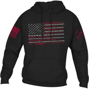 Grunt Style The Oath Pullover Hoodie - Black