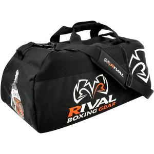 RIVAL Boxing RGB50 Gym Bag, Black - Black