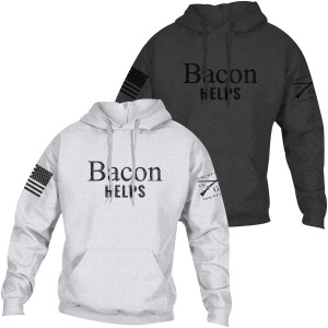 Grunt Style Bacon Helps Pullover Hoodie