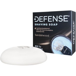Defense Soap Sandalwood Premium Shaving Soap