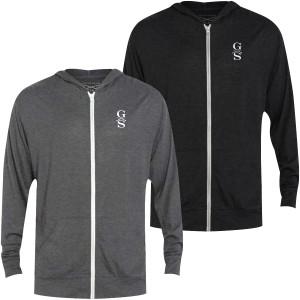 Grunt Style Basic Lightweight Tri-Blend Full Zip Hoodie