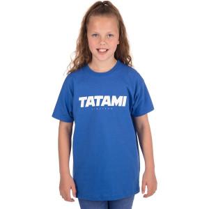 Tatami Fightwear Kid's Essential 2019 T-Shirt - Blue