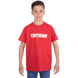 Tatami Fightwear Kid's Essential 2019 T-Shirt - Red