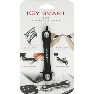 Keysmart Flex Compact Key Holder - Black