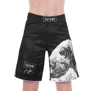 Tatami Fightwear Women's Kanagawa Fight Shorts - Black