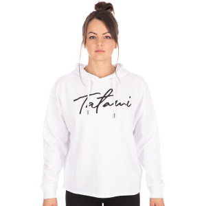 Tatami Fightwear Women's Cropped Pullover Hoodie - White