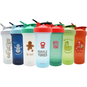 Blender Bottle Christmas Edition Classic 28 oz. SpoutGuard Shaker