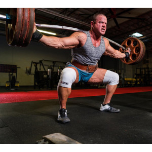 Sling Shot STrong Knee Sleeves by Mark Bell - White