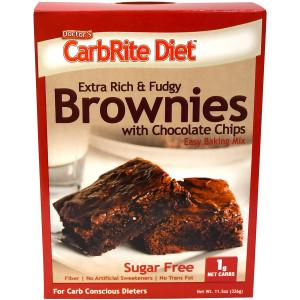 Universal Nutrition Doctor's CarbRite Diet Sugar-Free Brownie Mix
