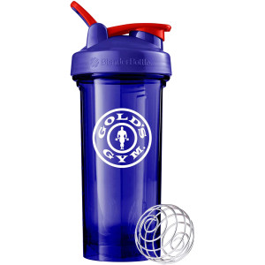 Blender Bottle Gold's Gym Pro Series 28 oz. Shaker Cup with Loop Top - Blue