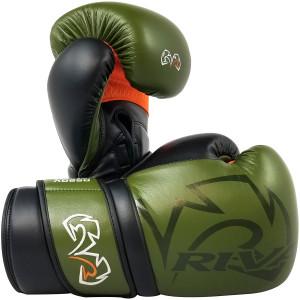 RIVAL Boxing RS80V Impulse Sparring Gloves - Khaki Green