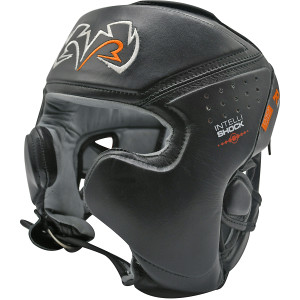 RIVAL Boxing RHG10 Intelli-Shock Training Headgear - Black