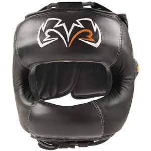RIVAL Boxing RHGFS1 Face Saver Training Headgear - Black