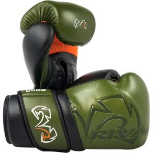 RIVAL Boxing RB80 Impulse Bag Gloves - Khaki Green