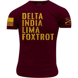 Grunt Style DILF T-Shirt - Maroon
