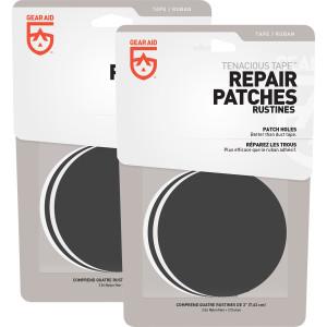 Gear Aid Tenacious Tape Repair Patches 2-Pack - Clear/Black