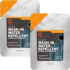 Gear Aid Revivex 10 oz. Wash-In Outerwear Water Repellent - 2-Pack