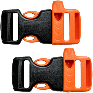 Gear Aid No-Sew Replacement Whistle Buckle - 2-Pack