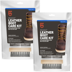 Gear Aid Revivex Leather Boot Care Kit - 2-Pack