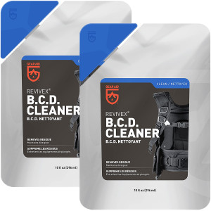 Gear Aid Revivex 10 oz. B.C.D. Cleaner and Conditioner - 2-Pack