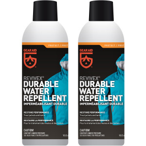 Gear Aid Revivex 10.5 oz. Durable Outerwear Water Repellent - 2-Pack