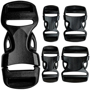 Gear Aid Dual Adjust No-Sew Replacement Buckle - 2-Pack