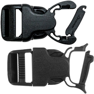 Gear Aid Snap Bar No-Sew Replacement Buckle - 2-Pack