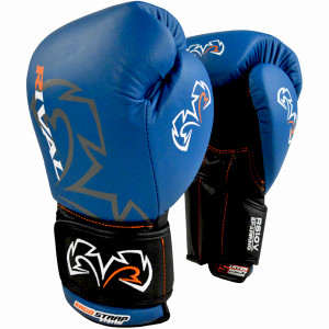 Rival Boxing Optima Sparring Gloves - Blue
