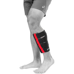 Mueller Multi-Directional Calf Wrap - L/XL - Black/Red
