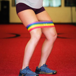 Sling Shot Rainbow Hip Circle Resistance Band by Mark Bell
