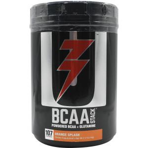 Universal Nutrition BCAA Stack Dietary Supplement - 100 Servings - Orange Splash