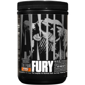 Universal Nutrition Animal Fury Dietary Supplement - Orange - 30 Servings