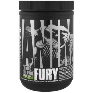 Universal Nutrition Animal Fury Dietary Supplement - Green Apple - 30 Servings