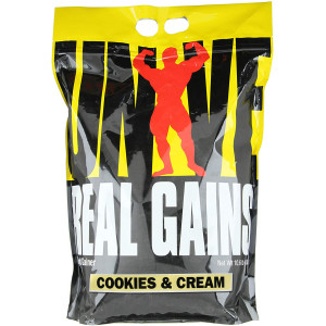 Universal Nutrition Real Gains - About 31 Servings - Cookies & Cream