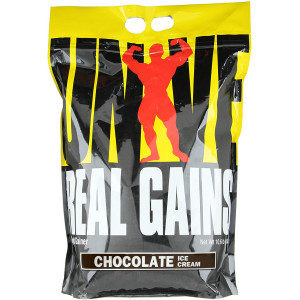 Universal Nutrition Real Gains - About 31 Servings - Chocolate Ice Cream