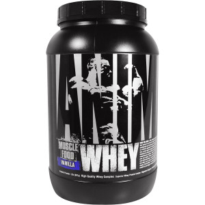 Universal Nutrition Animal Whey - About 27 Servings - Vanilla