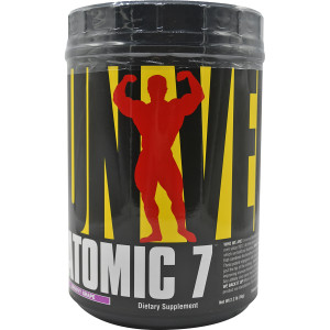 Universal Nutrition Atomic 7 - About 74 Servings - Groovy Grape