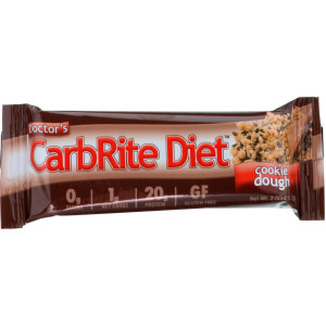 Universal Nutrition Doctor's CarbRite Diet Bars - 12 Bars - Cookie Dough