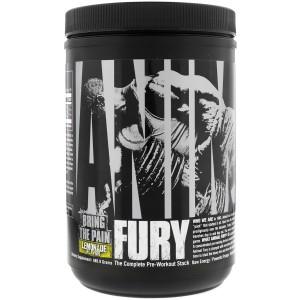 Universal Nutrition Animal Fury Dietary Supplement - Lemonade - 30 Servings