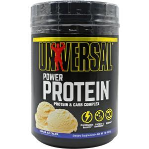 Universal Nutrition Power Protein Dietary Supplement - 15 Servings - Vanilla
