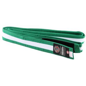 Tatami Fightwear Kids BJJ Rank Green/White Belt