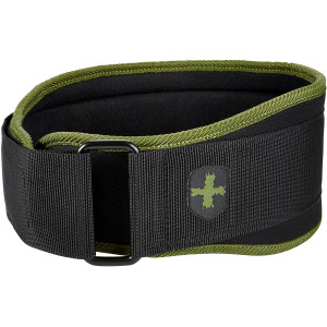 "Harbinger 5"" Foam Core Weight Lifting Belt - Green"